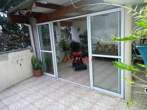 Cobertura Com 2 Dormitórios À Venda, 49 M² Por R$ 270.000 - Parque Novo Oratório - Santo André/sp - Co0667