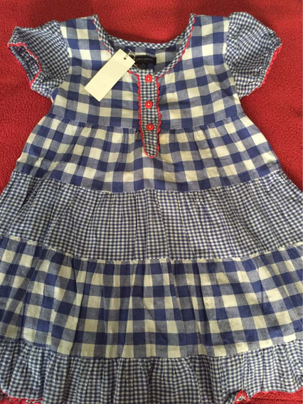 - Vestido Nena Verano Importado Gap/ralph L 4/5 Años -