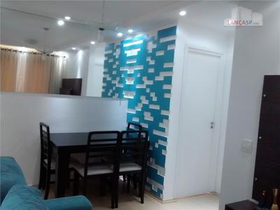 Apartamento De 45m² Com 2 Dorms No Conquista Em Santo André, Sp. - Codigo: Ap0675 - Ap0675
