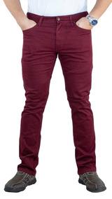 Pantalón Breton De Gabardina Slim Fit. Estilo Bjm047