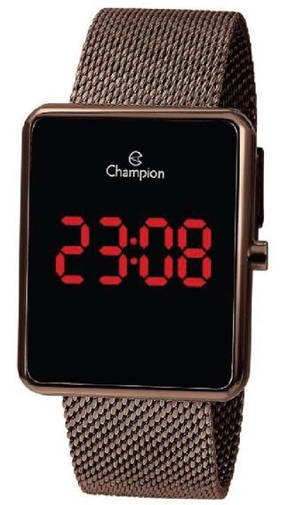 Relógio Champion Led Feminino Ch40080r Digital