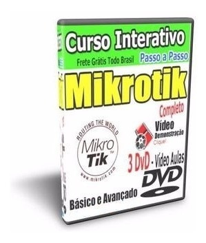 Curso Completo Mikrotik + Balance + Mk-auth + Thunder+brind.