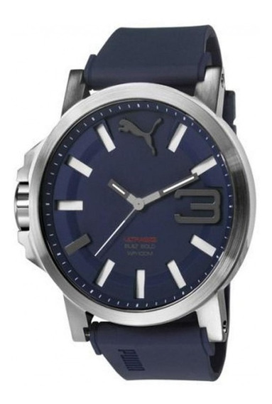 Relógio Puma Masculino Azul 96252g0psnu3