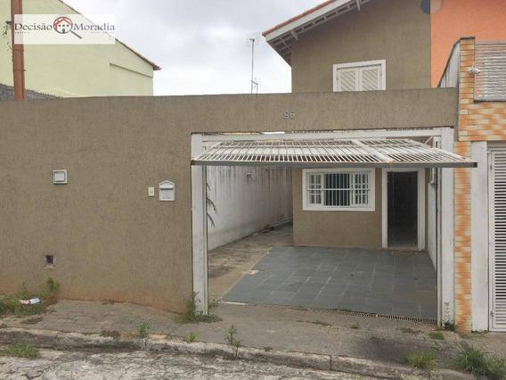 Sobrado Com 3 Dormitórios À Venda, 117 M² Por R$ 385.000 - Pqe.ipê/sub-butantã - Sp - So0666