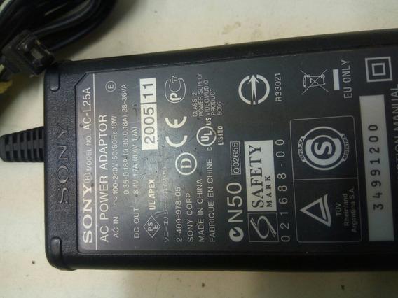 Ac-l25a Sony Adaptador Ac