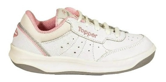 Zapatillas Topper X Forcer Bla/ros De Niños