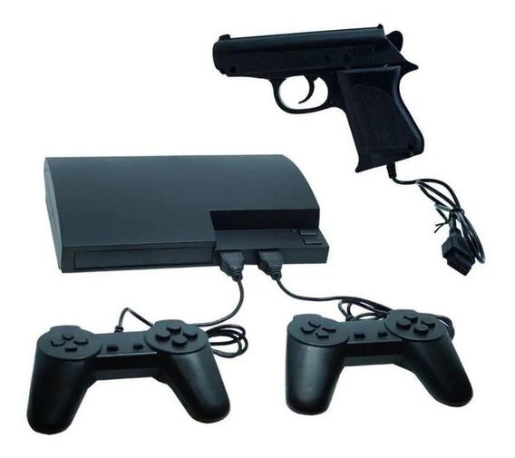 Video Game Retrô Nes 999 Jogos Com 2 Controles + Arminha