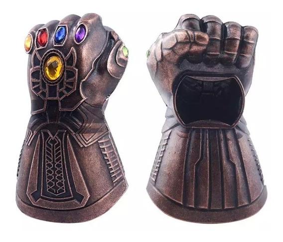 Destapador Metalico Guante De Thanos Gemas Del Infinito - Avengers - Los Vengadores - Marvel (no Destapathor)