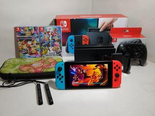 Nintendo Switch Control Pro 2 Juegos Físicos Estuche