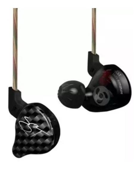 Fone Kz Zst In Ear Profissional S/ Microfone Pronta Entrega