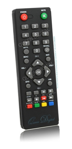 Control Remoto Para Pronext Decodificador Tda Hd Xt34