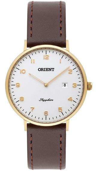 Relógio Orient Feminino Prata Swarovski Frsc1006 B3vx + Nfe