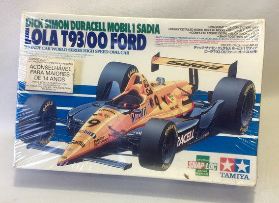 Kit Tamiya - Lola T93/00 Ford 1/20 Novo Lacrado - Raridade