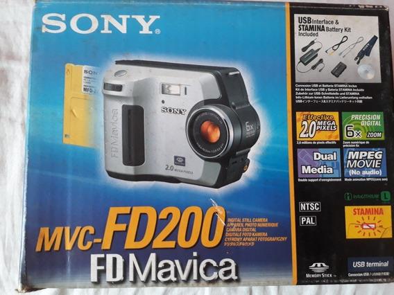 Máquina Fotográfica Mavica