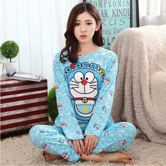 Pijama Para Dama Dibujos Animados