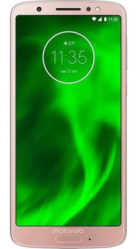 Motorola Moto G6 64gb Usado Seminovo Ouro Rosê Excelente