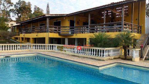 Chácara Com 4 Dormitórios À Venda, 1130 M² Por R$ 750.000,00 - Jardim Estância Brasil - Atibaia/sp - Ch0024