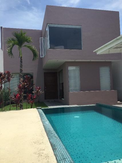 Casa En Privada En Residencial La Palma / Jiutepec - Cal-116-cp