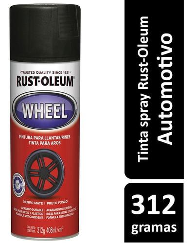 Spray Preto Fosco Para Rodas - Rust Oleum