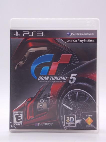 Gran Turismo 5 Play Station 3 Original Mídia Física