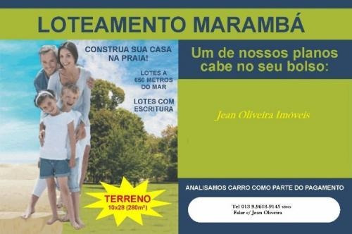Terreno De Esquina Na Praia De Itanhaém,confira! 3444 J.k