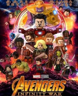 14 Unidades Lego Marvel Infinity War