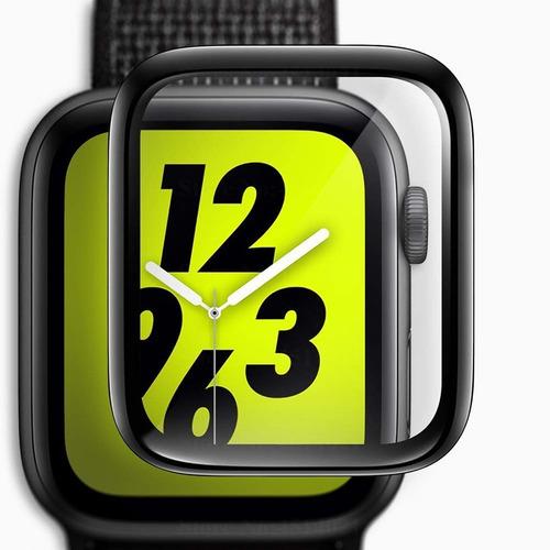 Pelicula Vidro Apple Watch 6d Premium Tamanho 38/40/42/44 Mm
