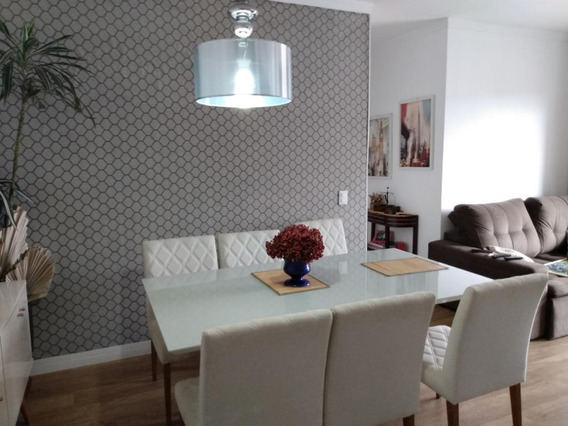 Apartamento Em Vila Mogilar, Mogi Das Cruzes/sp De 70m² 3 Quartos Para Locação R$ 3.650,00/mes - Ap375834