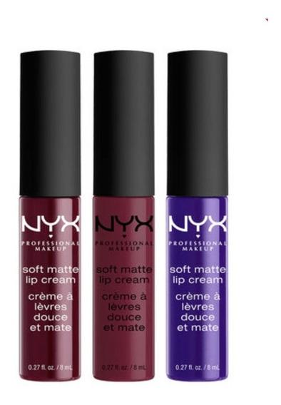 Nyx - Soft Matte Lip Cream Set06