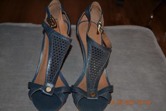 Sandálias, Cor Cinza, Nº 35, Marca Ellus Shoes