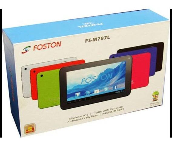 Tablet Foston 787 Quadcore Camera Wifi Android 6.0 C/nf