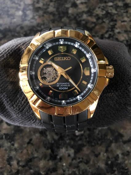 Relógio Seiko Automático Dourado