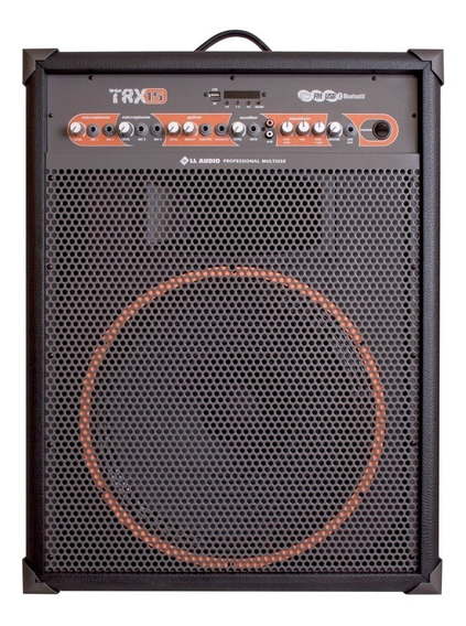 Caixa Multiuso Ll Audio Trx 15 120wrms Bluetooth/usb/sd/fm/c