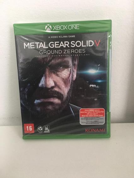 Jogo Xbox One Metal Gear Solid V - Mídia Física - Lacrado