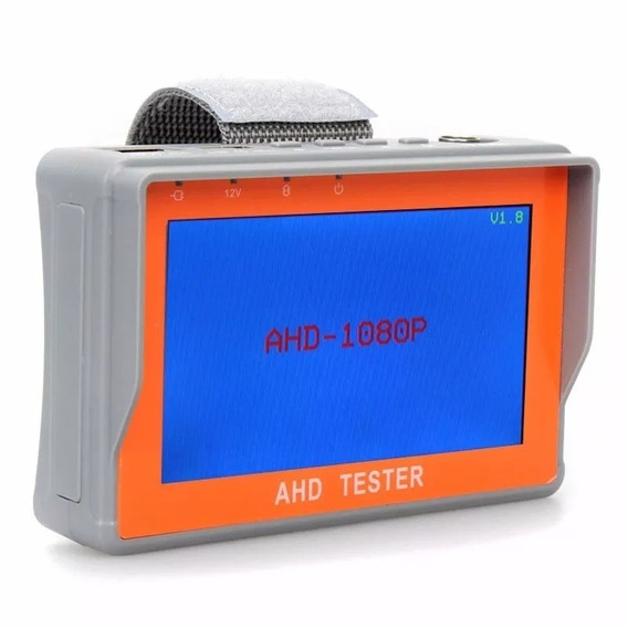 Monitor 4.3 Tester Testador De Camera Ahd E Analogica
