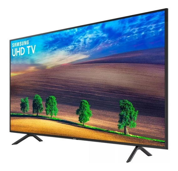 Smart Tv Led 50 Uhd 4k Samsung 50nu7100gxzd - Wifi