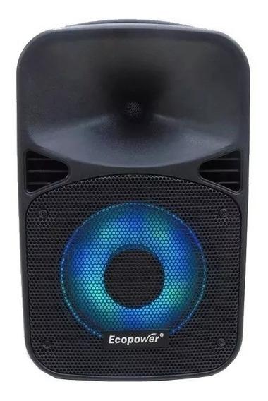 Caixa Amplificada Ecopower Ep-s308 - 8 Polegadas - Bluetooth