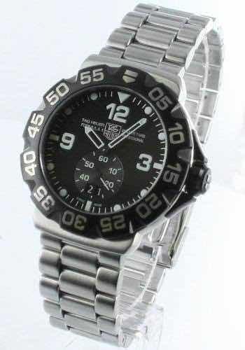 Relógio Tag Heuer Formula 1 Grande Data Black Dial Watch