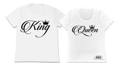 Camiseta Camisa Set 2 Para Pajeras Enamorados Novios Esposos