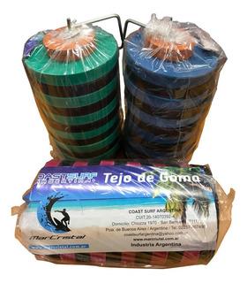 Tejo De Goma Mar Cristal Con Gancho