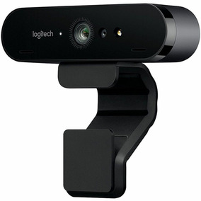 Webcam 4k Ultra Hd Logitech Brio Video Conferência Streaming