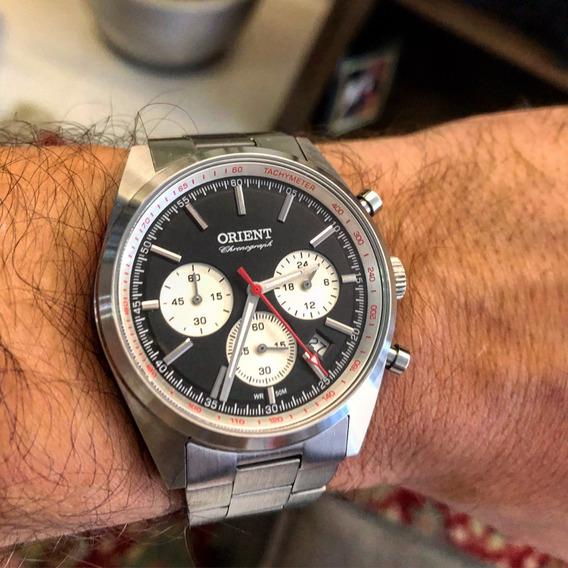 Relógio Orient Cronógrafo Mbssc187 Vintage Retro