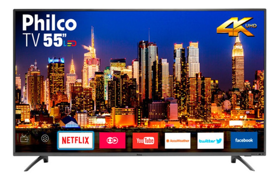 Tv55 Smart Philco 4k Bivolt