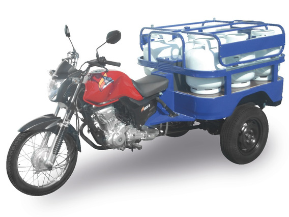 Triciclo Carga Fusco Motosegura Gas 8 P13 160cc 2020