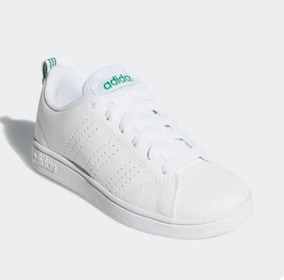 adidas Advantadge Bco/vde Unisex Originales Aw4884