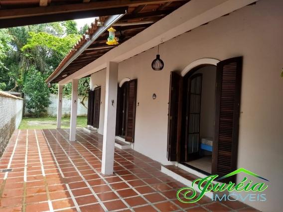 Casa Para Temporada Com 4 Suites Na Praia Do Guaraú.peruíbe