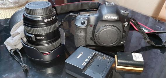 5d Mark Iii + Lente Canon 24-105mm F/4l