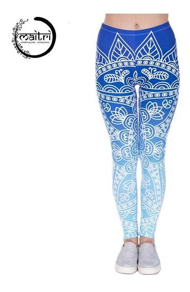 Leggings Mandala Psicodélicos Hippie Yoga Gimnasio Unitalla