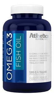 Óleo De Peixo Ômega 3 Fish Oil 120 Cáps - Atlhetica