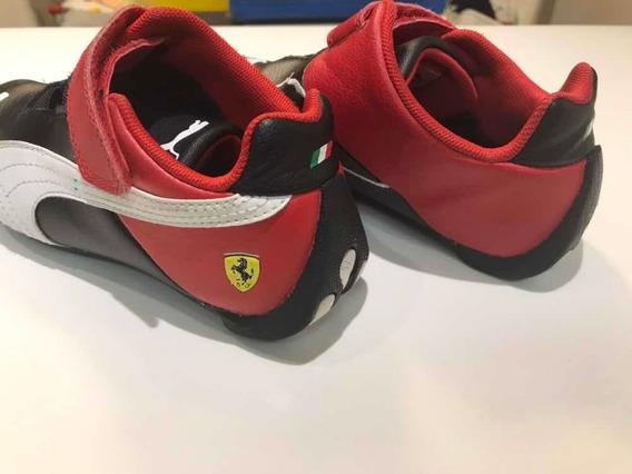 Tênis Puma Ferrari Infantil Pouco Usado